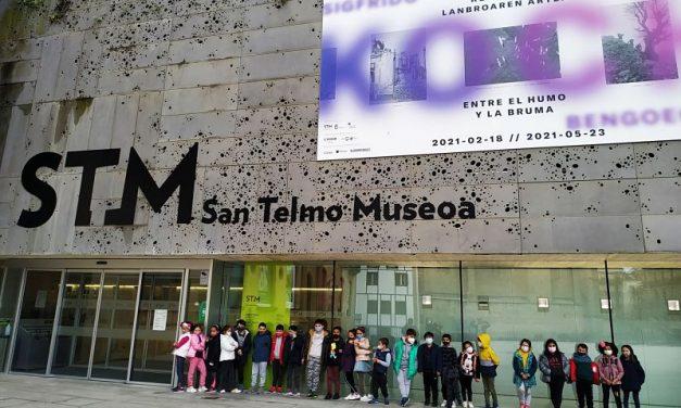 Los alumnos de primer ciclo de primaria en el Museo de San Telmo