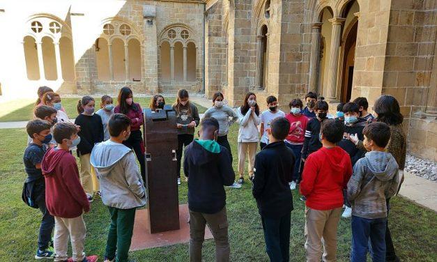 Los alumnos de tercer ciclo de primaria en el Museo de San Telmo